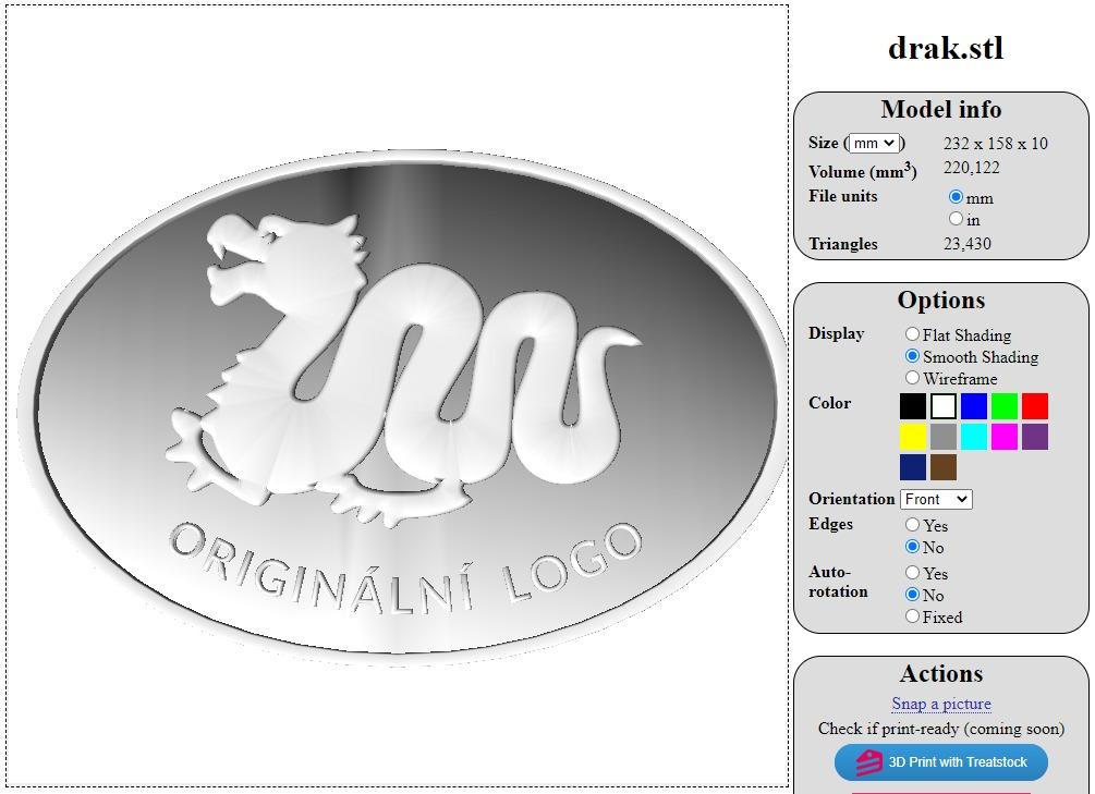 Návod na online prohlížeč 3D modelů